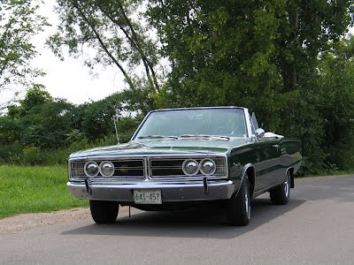 1966 Dodge Coronet Convertible Front View